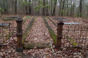 Old Cemetery at Indian Springs.